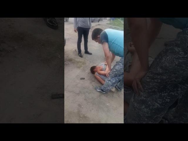 Омича избили после наезда