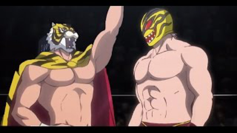 Tiger mask w AMV - Black and blue HD