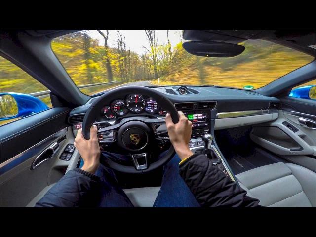 2016 Porsche 911 Targa 4 (991.2) POV Drive Onboard 4k Lets Drive