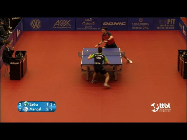 German League 16/17 - Hunor SZÖCS - Steffen MENGEL