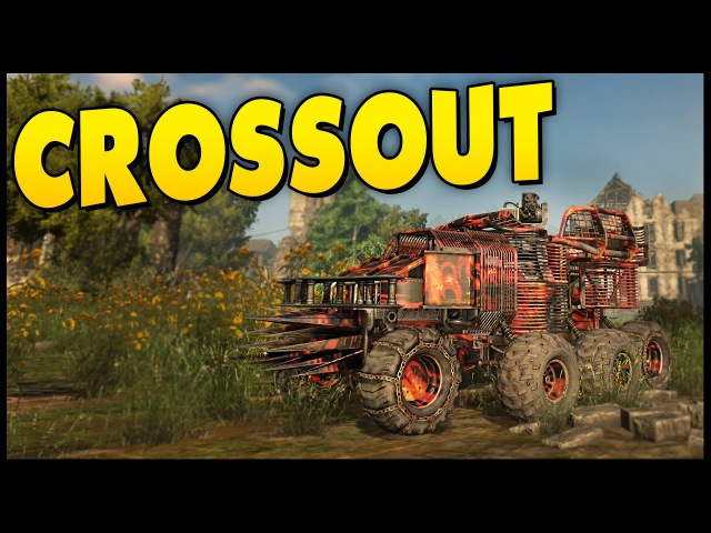 Crossout - Knight Riders Update New Map Fortress - Hammerfall Dual Wasp Build -Crossout Gameplay