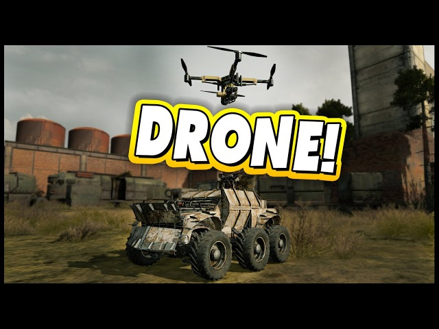 Crossout - Missile Drone Heavy MG Medium MG = Awesome [100th Episode]
