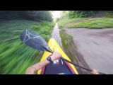 Straight down the fast lane on a kayak. Straight from the Athletes E2 Aniol Serasolses