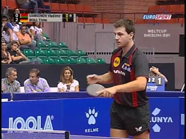 Vladimir Samsonov (BLR) vs Timo Boll (GER)