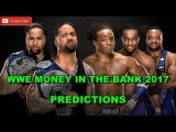 WWE Money In The Bank 2017 Smackdown Tag Team Championship The Usos vs. The New Day Predictions