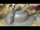 how to make a cement bonsai pot, make a new bonsai pot with the simple tools