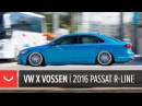 2016 VW Passat R-Line Vossen Forged Wheels Accuair