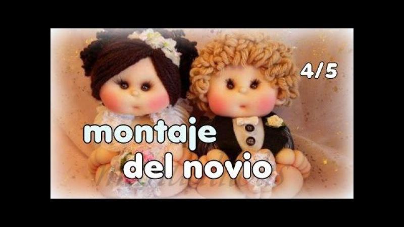 Muñecos novios hoy montaje del novio 4/5, video 243