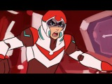 i tried to reanimate the voltron opening