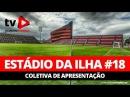 Estádio da Ilha 18 Coletiva do presidente Bandeira e do prefeito do Rio