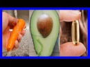 Una zanahoria un aguacate y una cápsula de vitamina E, 20 minutos más tarde La magia sucede