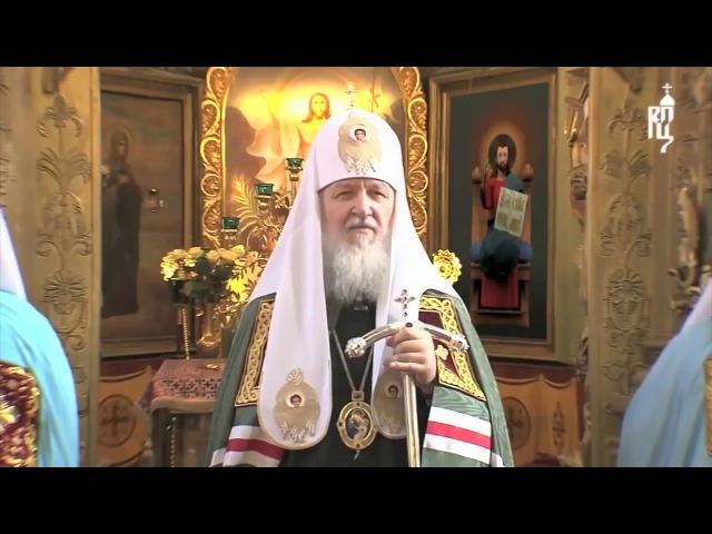 Иисус Христос ушёл во время проповеди патриарха Кирилла Гундяева про Pussy Riot