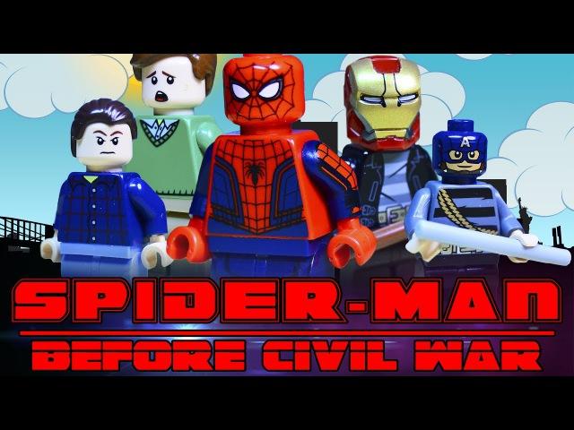 Lego Spider-Man: Before Civil War / Lego Человек-Паук: До Гражданской Войны