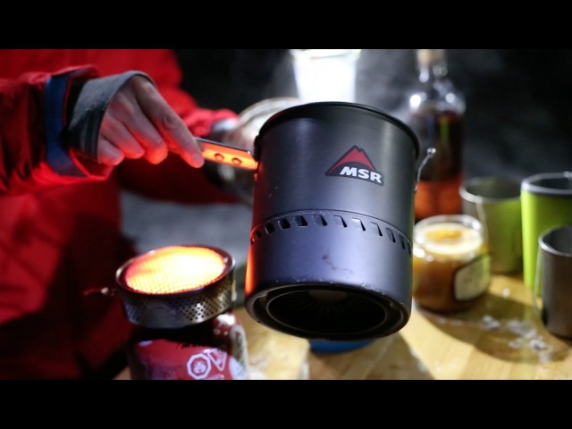MSR Stoves: How to Make a Hot Tea Toddy