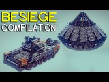 ►Besiege Compilation - Armored vehicles