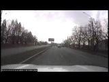 ДТП Приус Салтовское шоссе и Льва Ландау Харьков. Борт 0509 14.11.2017
