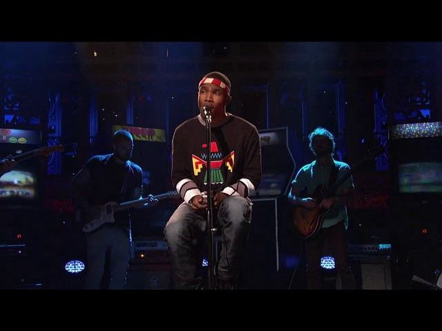 Frank Ocean, Thinkin Bout You (Saturday Night Live, 2012)