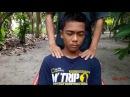 Very best head massage face massage relaxing - by abit |ASMR
