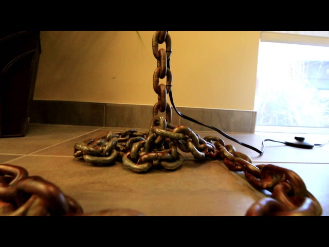 BUILD: Industrial Modern Chain Lamp