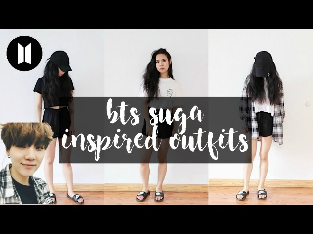 BTS INSPIRED OUTFITS PT.2 SUGA