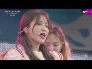 170826  Red Velvet cut @ a-nation 2017