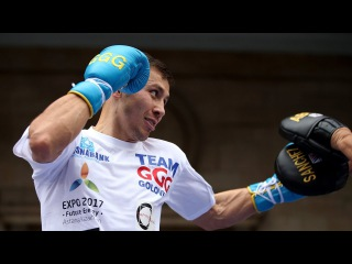 Gennady Golovkin Training For Danny Jacobs