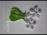 Quilling Made Easy # How to make Beautiful Flower Design using Paper Art Quilling -Paper Quilling