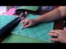Mulher 22/01/2015 Bolsa em patchwork por Regina Heitor Parte 1