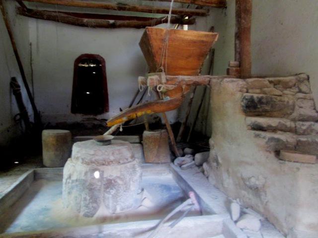 ИСПАНИЯ Водяная Los Molinos de piedra en la Huaylla distrito de Jesús Cajamarca