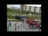 Драка фанатов Спартак Зенит  Spartak Zenit fight