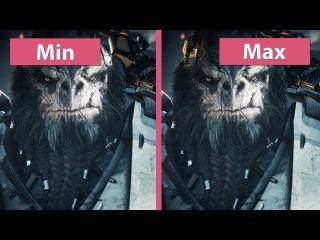 4K UHD   Halo Wars 2 – PC Min vs. Max Graphics Comparison