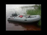 Лодочный мотор Allfa T9.9S на лодке Hunter 330 - обкатка на воде - 1