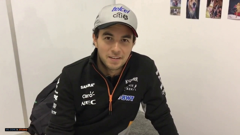 [RUS] 2017 Russian GP - A lap with Checo