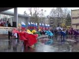 Финал праздничного мероприятия на центральной площади в 11.00. День Победы в Березовском 9 мая 2017