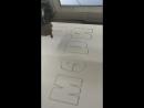 Резка лазером букв из пенопласта