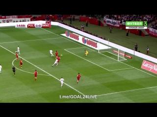 Польша 2:0 Черногория   Гол Гросицки