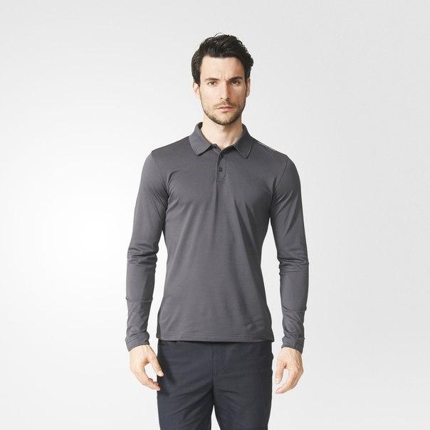 Рубашка-поло с длинным рукавом Piqué