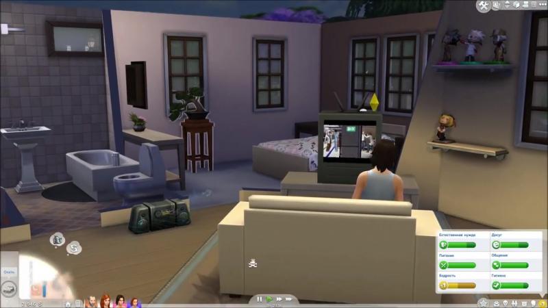 The Sims 4 Поиграем Семейка Митчелл _ 26 Ой, красотка-то какая