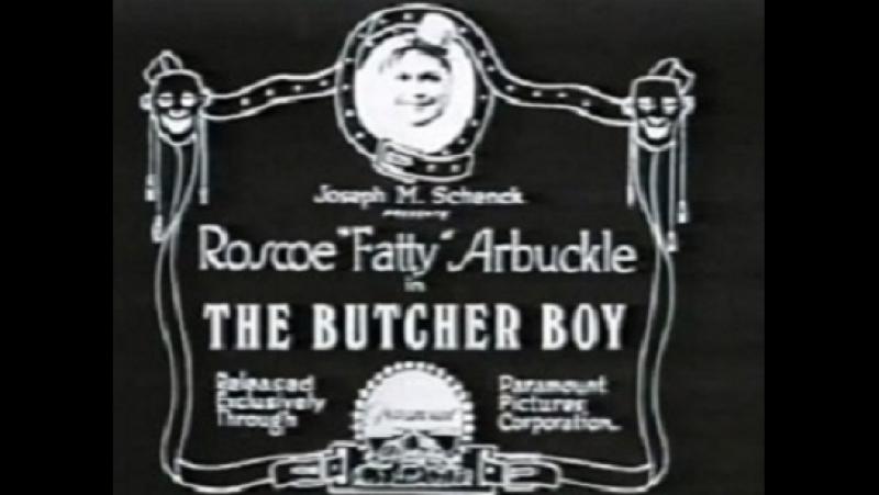 The Butcher Boy(Roscoe Fatty Arbuckle,1917) Buster Keaton,.Roscoe Arbuckle,Al St. John ,Alice Lake