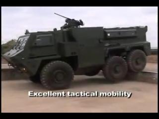 BAE Systems - RG35 Mine Protected семейство автомобилей [480p]