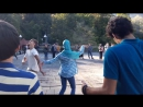 Озеро Рица. Абхазская молодежь танцует