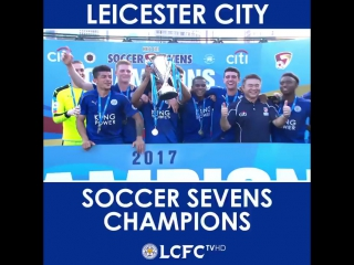LCFC are the champions of the Hong Kong City Soccer Sevens!