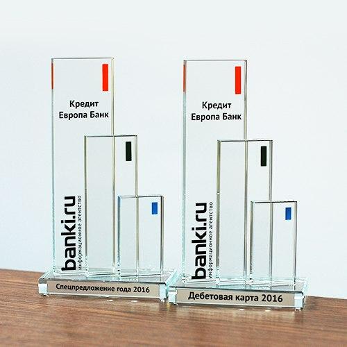 Друзья! Кредит Европа Банк стал победителем сразу в двух номинациях на