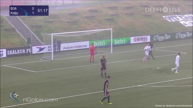 81 EL-2017/2018 B36 Tórshavn - JK Nõmme Kalju 1:2 (06.07.2017) HL