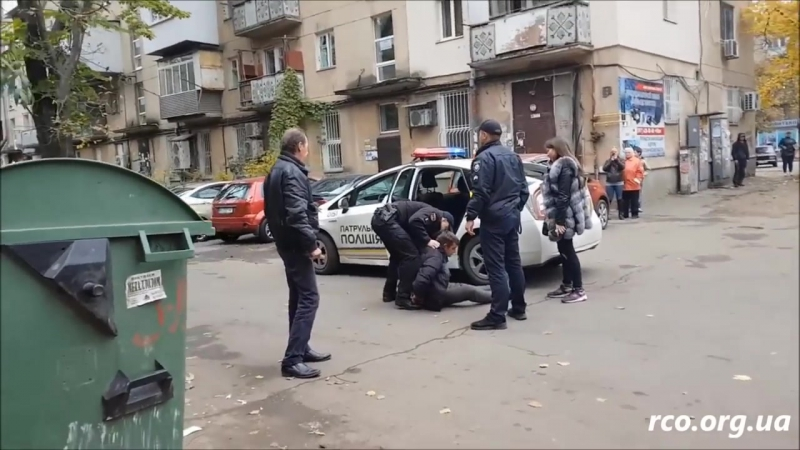 Гаишник Продан В. В. задержал и избил злостного нарушителя (ч.1)