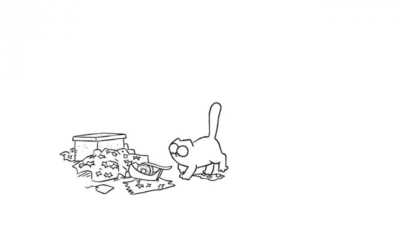 13. Кот Саймона - Липкая лента