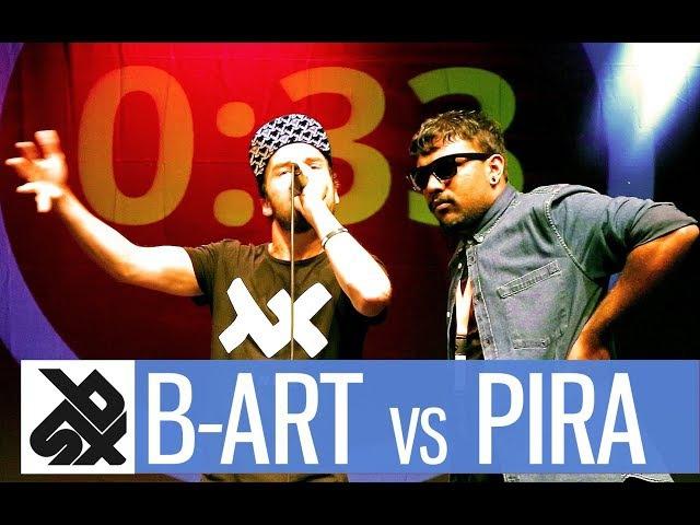 B-ART vs PIRATHEEBAN | Shootout Beatbox Battle 2017 | SEMI FINAL