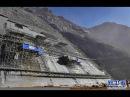 Китайцев не остановить Строительство самой большой каменной дамбы