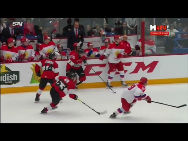 CIBC Canada Russia Series. Канада (OHL) - Россия U20 - 4:2. Видеообзор