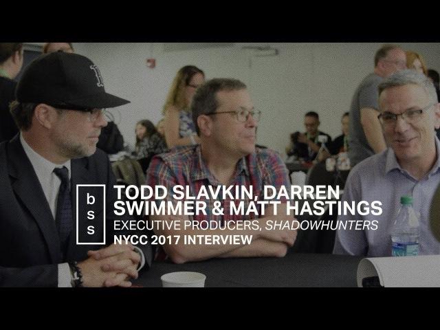 Basic Shadowhunters Stuff: Todd Slavkin, Darren Swimmer, and Matt Hastings / NYCC 2017